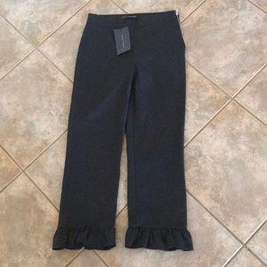 NWT Zara Woman Cropped Pants XS READ Description